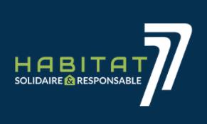 Logo du constructeur HABITAT 77 (ex OPH 77)