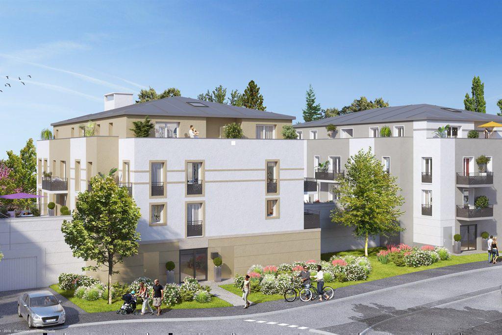 Programme immobilier LES TERRASSES DE BREUILLET 91650 SAINT YON