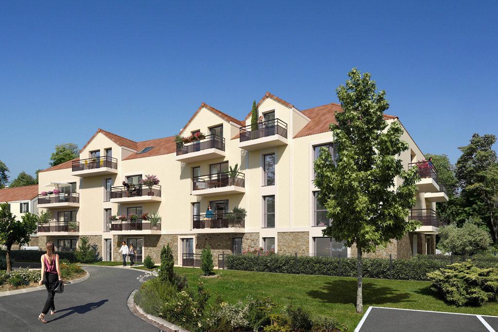 Programme immobilier LA CLE DES CHAMPS 91810 VERT LE GRAND