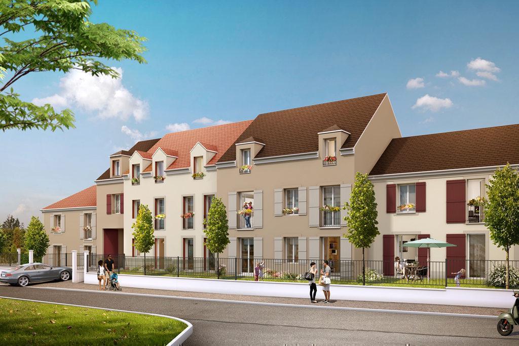 Programme immobilier LE CLOS NICOLAS A BAILLET-EN-FCE 95560 BAILLET EN FRANCE