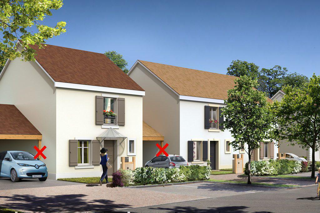 Programme immobilier NATURE & SENS 91540 FONTENAY LE VICOMTE