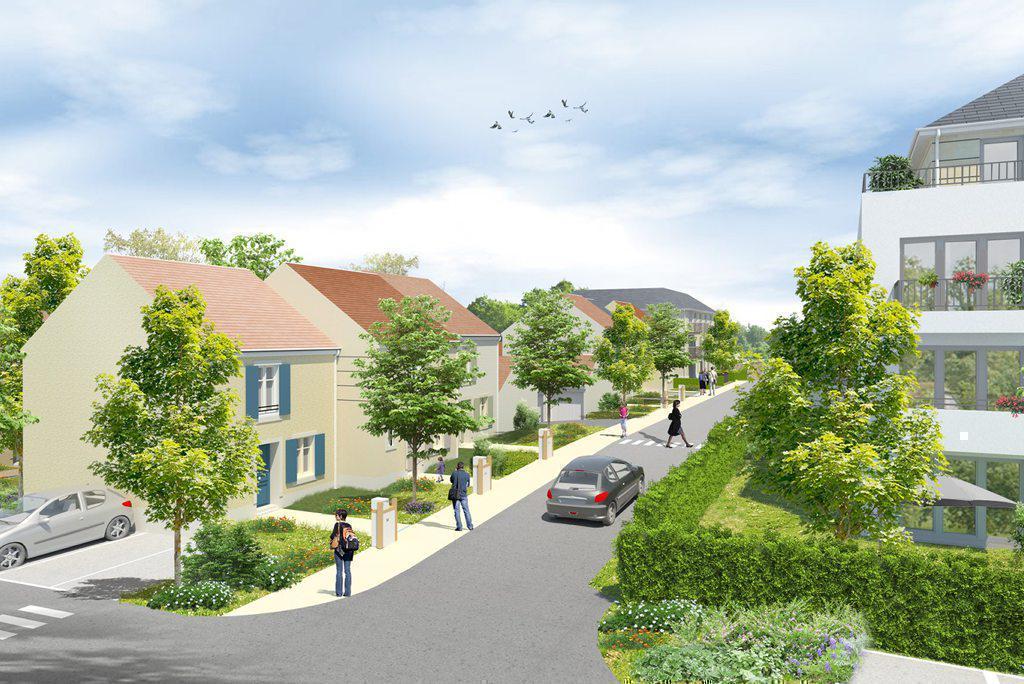 Programme immobilier CÔTÉ FAUBOURG 77330 OZOIR LA FERRIERE