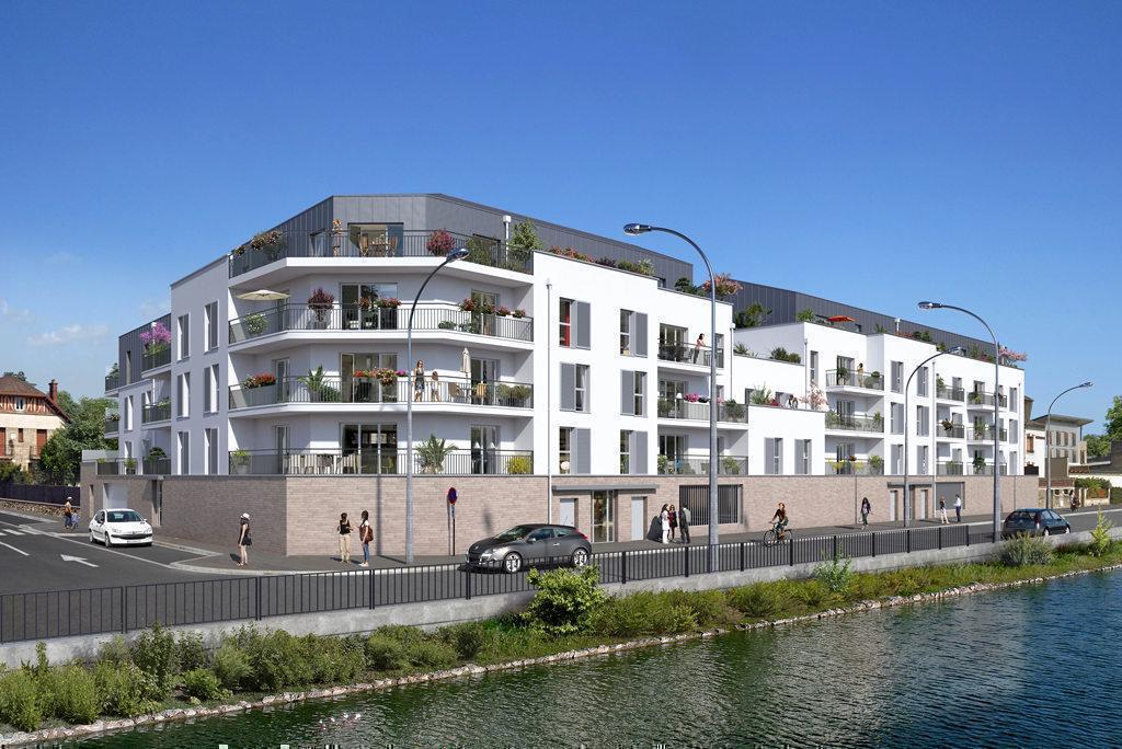 Programme immobilier LES TERRASSES DE L'OISE 60100 CREIL