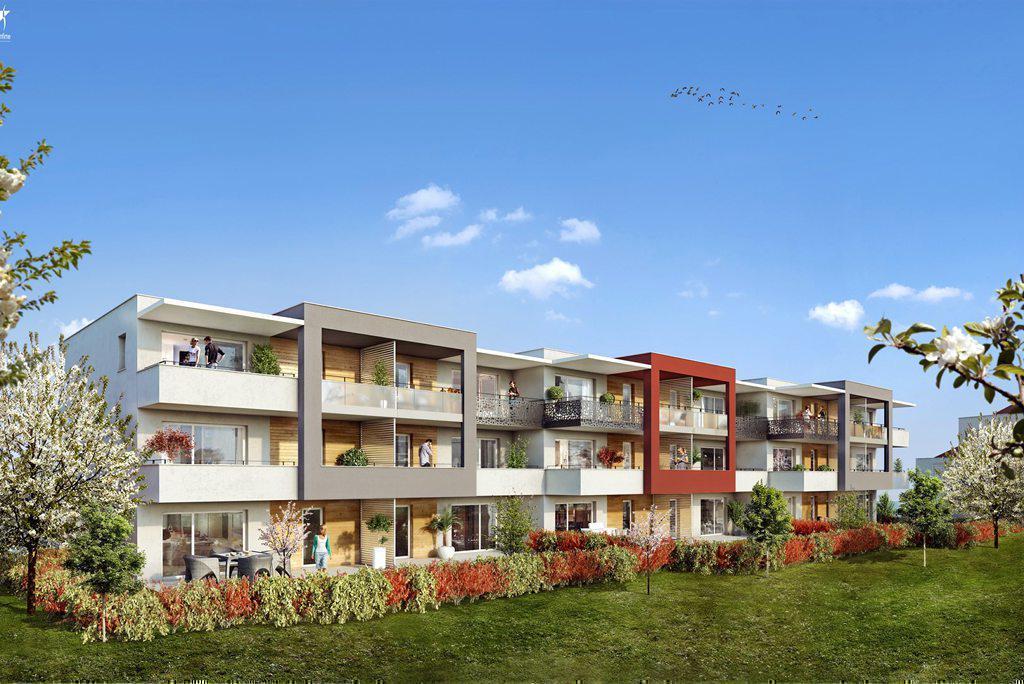 Programme immobilier DOMAINE DES RUBIS 74200 THONON LES BAINS