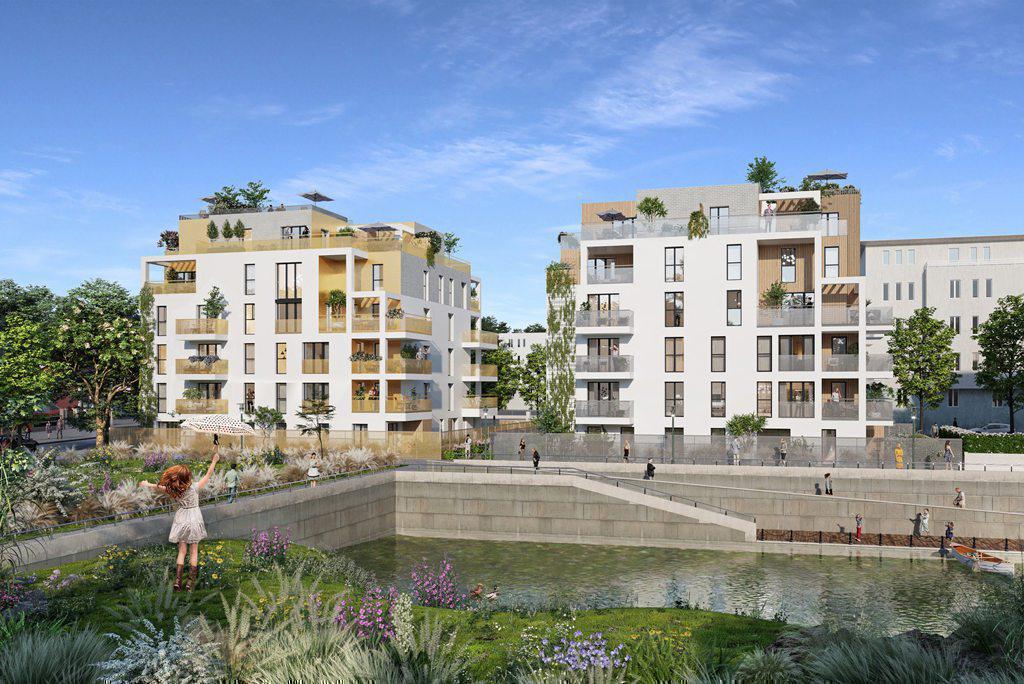 Programme immobilier LES BORDS DU LAC 78090 GUYANCOURT