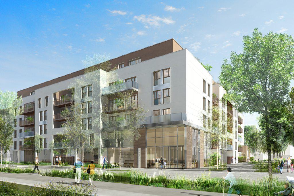 Programme immobilier L'AQUARELLE 95976 VILLEPINTE