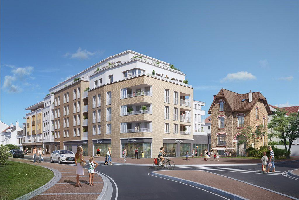 Programme immobilier L'ECRIN 93370 MONTFERMEIL