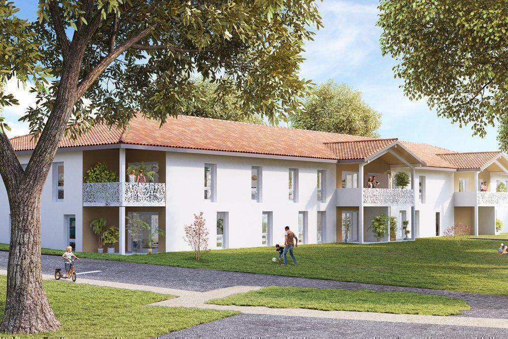 Programme immobilier GREEN PARK 58210 SAINT PIERRE DU MONT
