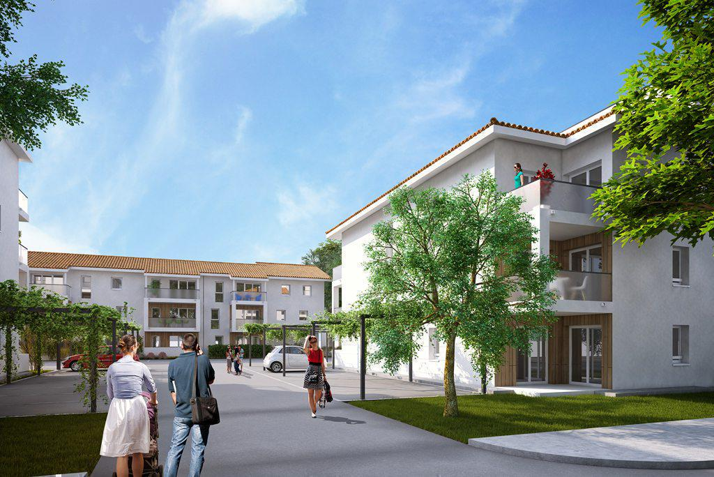 Programme immobilier COURT CENTRAL 40230 SAINT VINCENT DE TYROSSE