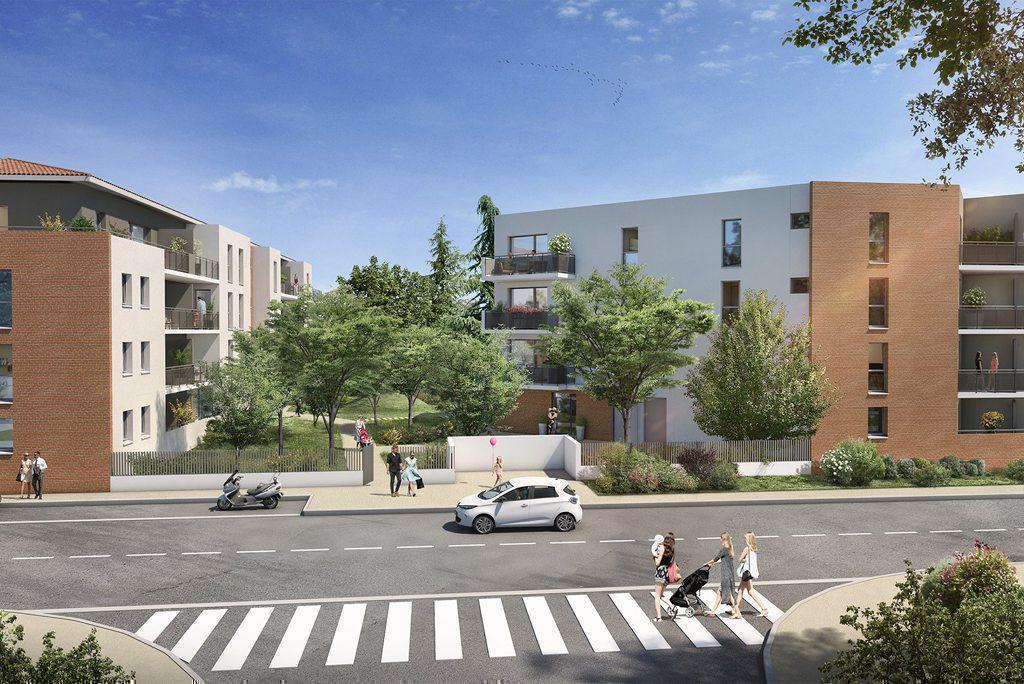 Programme immobilier LE JARDIN DE MARIUS 31000 TOULOUSE
