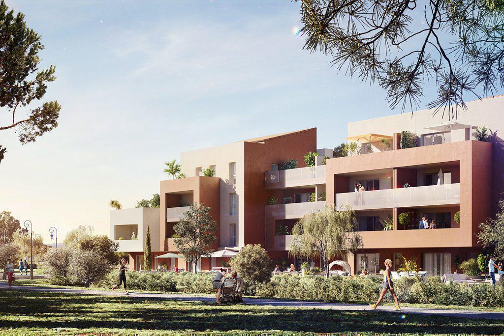 Programme immobilier A FLEUR DE VILLE 83210 LA FARLEDE