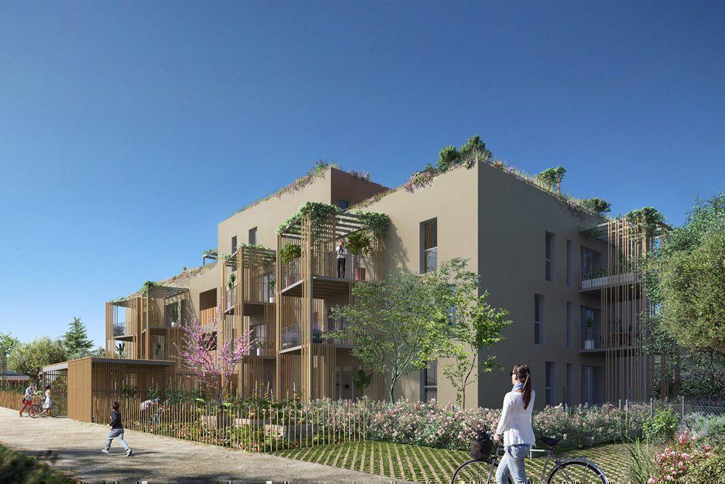 Programme immobilier LES JARDINS D'AZUR 06510 CARROS