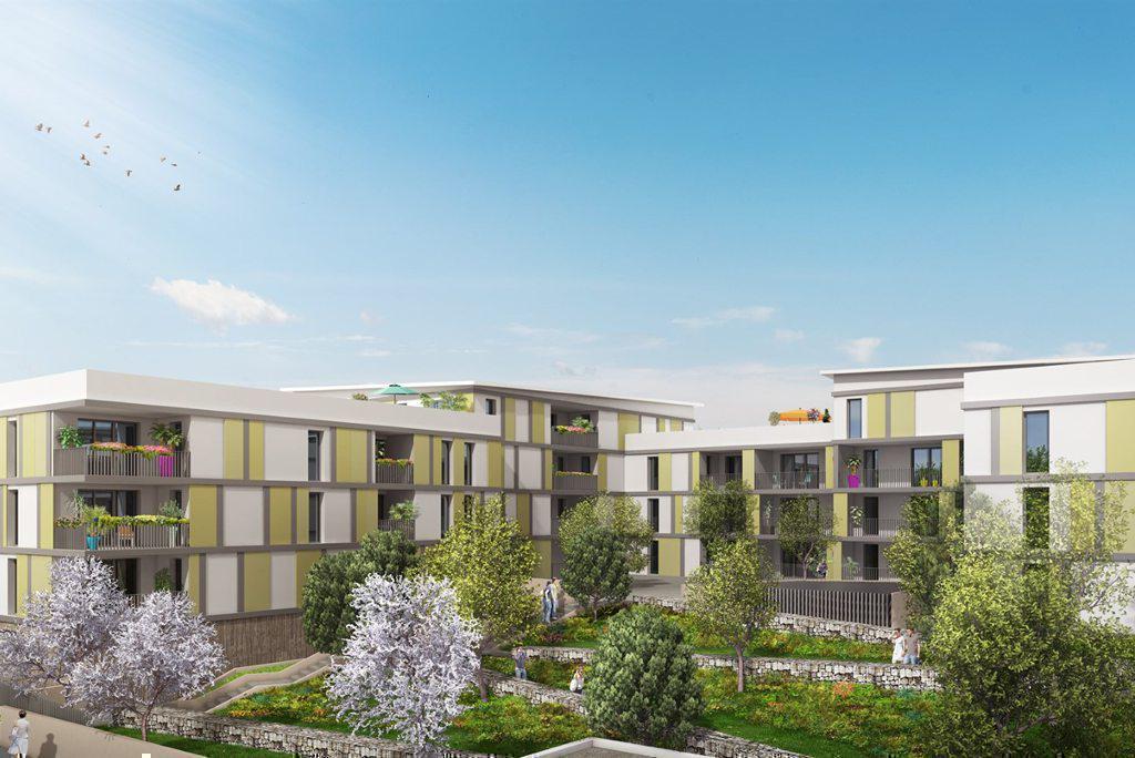 Programme immobilier RÉSIDENCE PATIO 13400 AUBAGNE