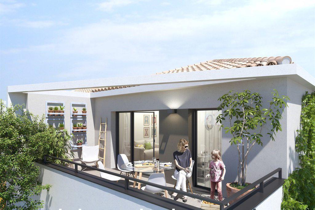 Programme immobilier LE DOMAINE DE ROSE 83110 SANARY SUR MER