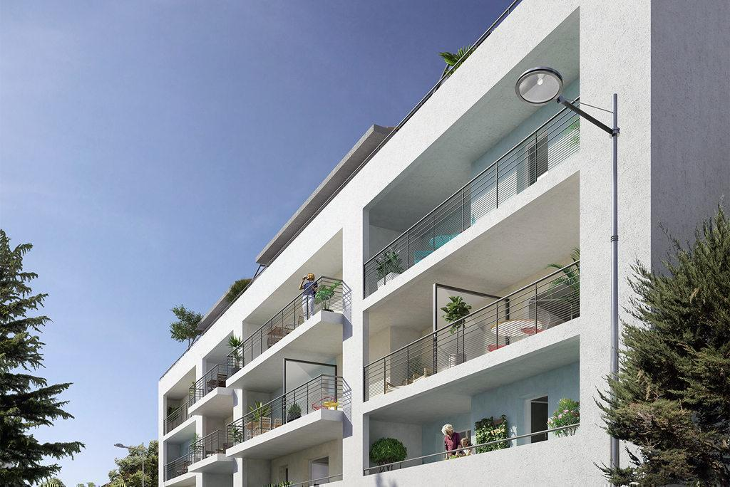 Programme immobilier ALFRED & GEORGE 83000 TOULON