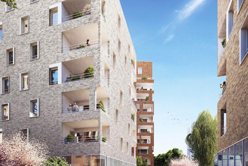 Programme immobilier N.O.U : NOUVEL OPUS URBAIN 69100 VILLEURBANNE
