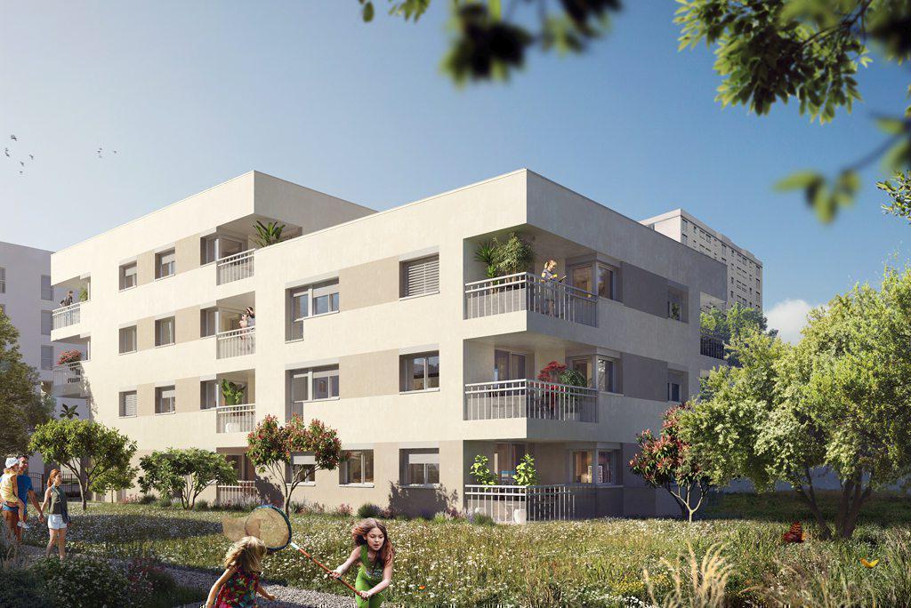 Programme immobilier LE CHAMP DES POSSIBLES / L'OREE 69500 BRON