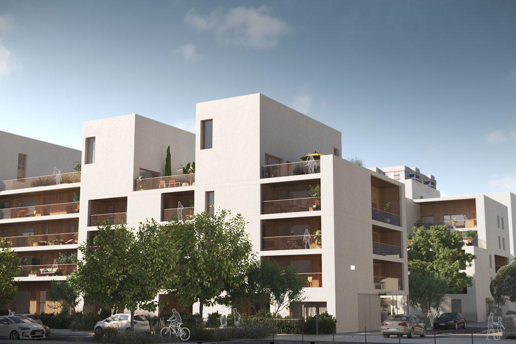 Programme immobilier LE CHAMP DES POSSIBLES / L'AGORA 69841 BRON