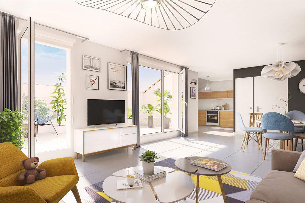 Programme immobilier REFLET DE RIVES 38300 BOURGOIN JALLIEU