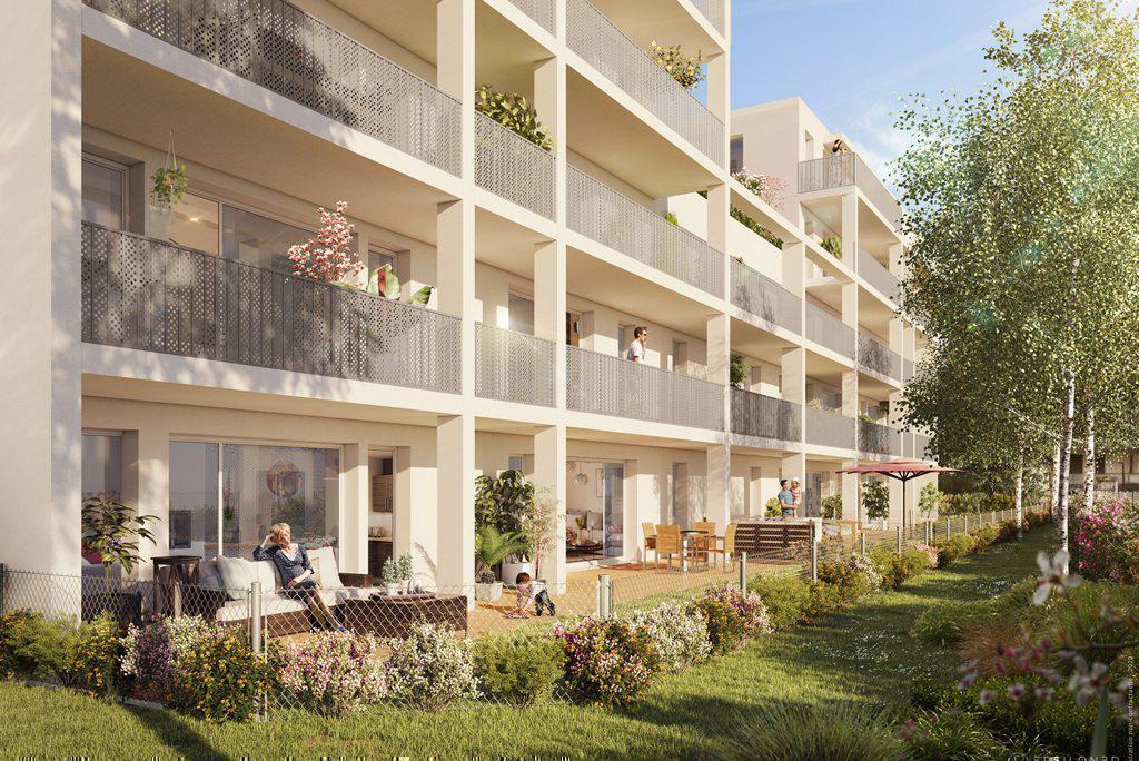 Programme immobilier SAT'IN 69120 VAULX EN VELIN