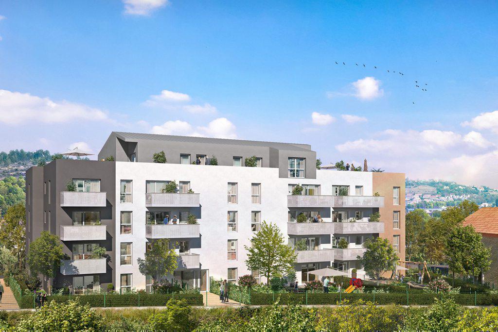 Programme immobilier AU FIL DE L'O 21370 PLOMBIERES LES DIJON