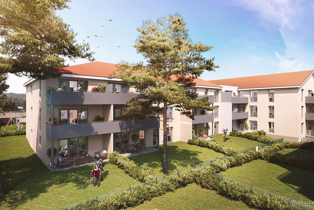 Programme immobilier LE CLOS SIBILLE 38780 PONT EVEQUE