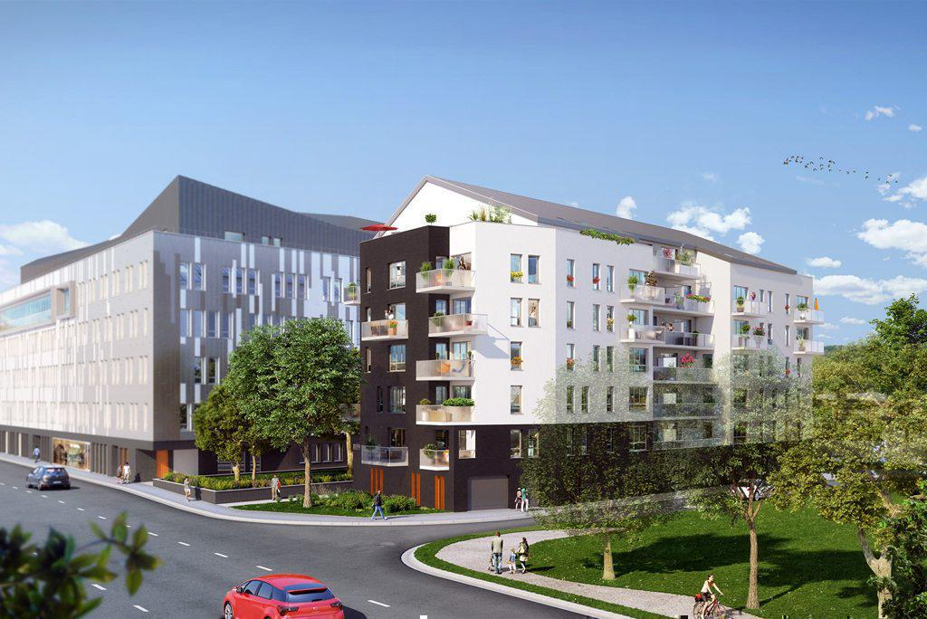 Programme immobilier RIVEO 76000 ROUEN