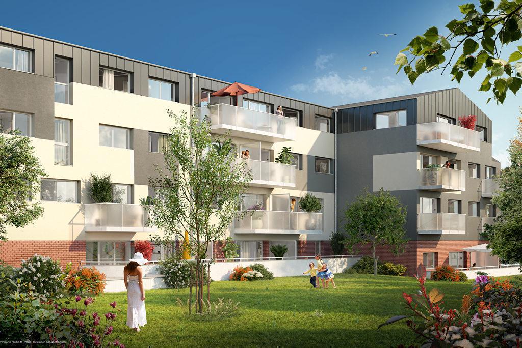 Programme immobilier LE PATIO 76140 LE PETIT QUEVILLY