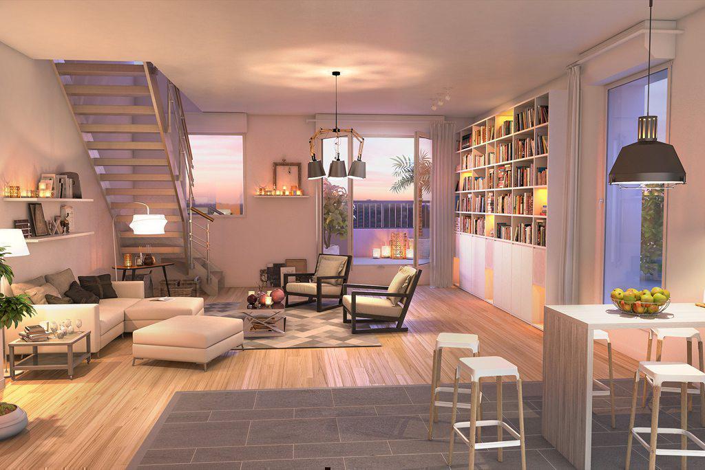 Programme immobilier L'AVENUE 44902 NANTES