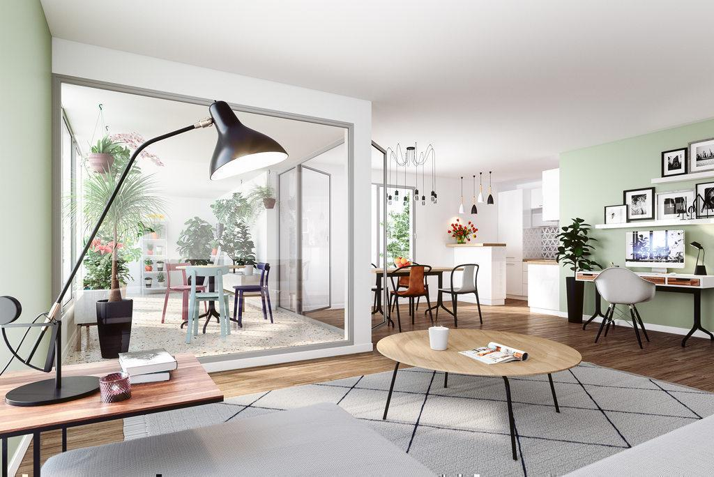 Programme immobilier LE FLORE 44902 NANTES
