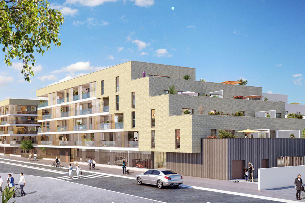 Programme immobilier LES TERRASSES DE GALISSON 33700 MERIGNAC