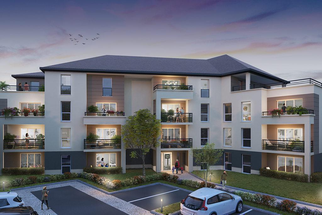 Programme immobilier COTE PARC 45770 SARAN