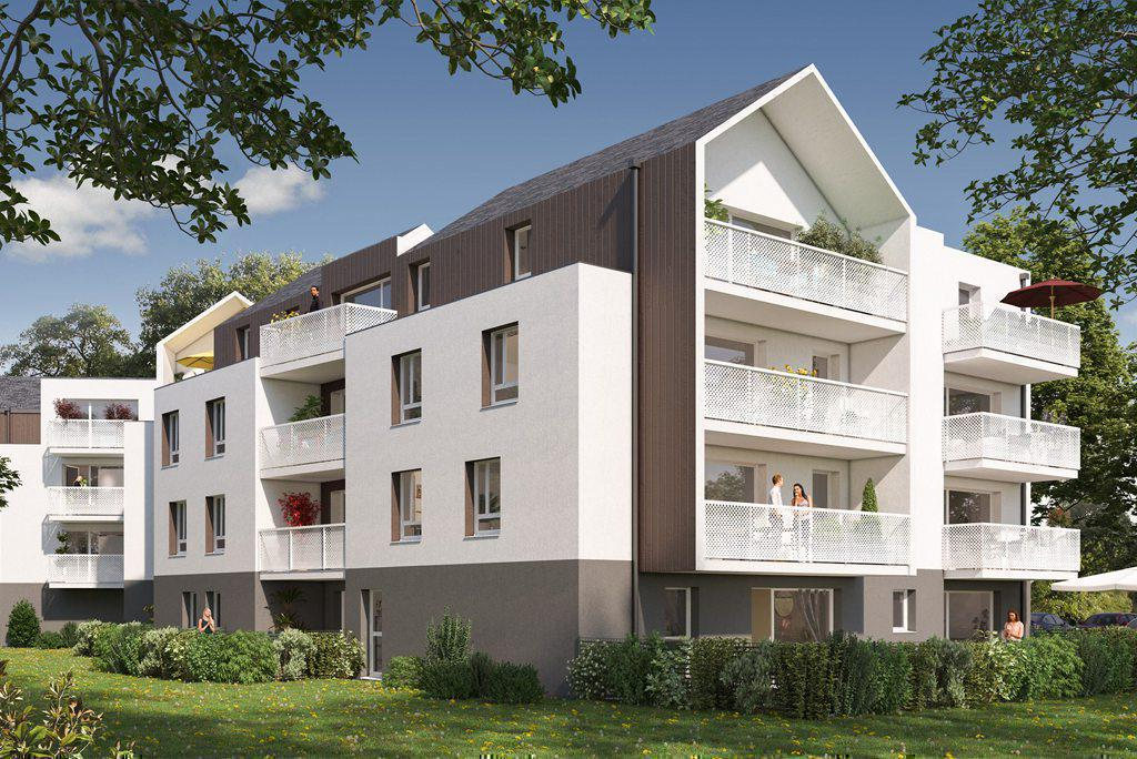 Programme immobilier L'ALCYONE 56860 SENE