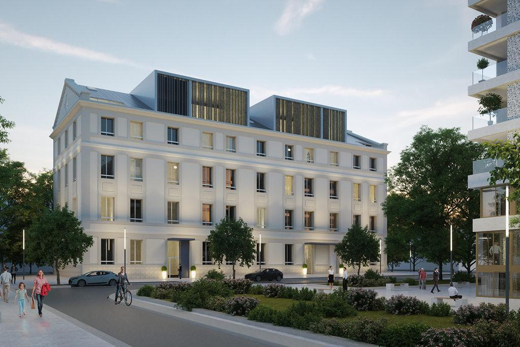 Programme immobilier FAUBOURG 56 34000 MONTPELLIER