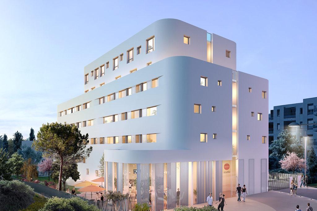 Programme immobilier RESIDENCE ETUDIANTS AXONE 34000 MONTPELLIER