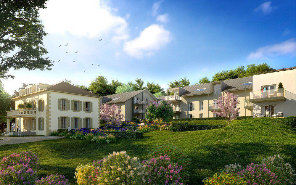 Programme immobilier VILLA BEAUJEU 01220 DIVONNE LES BAINS