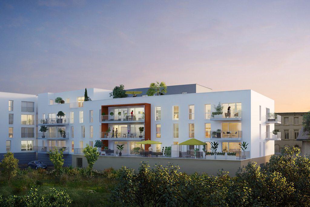 Programme immobilier L'AVANT SCENE 57070 SAINT JULIEN LES METZ