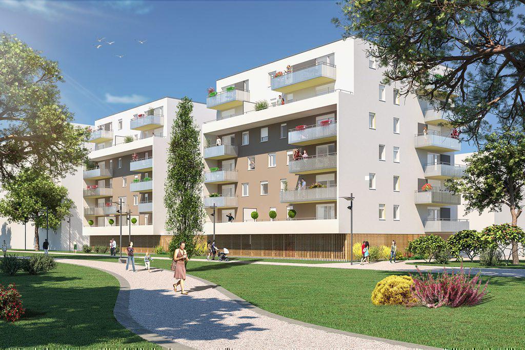 Programme immobilier L'ESCALE 68100 MULHOUSE