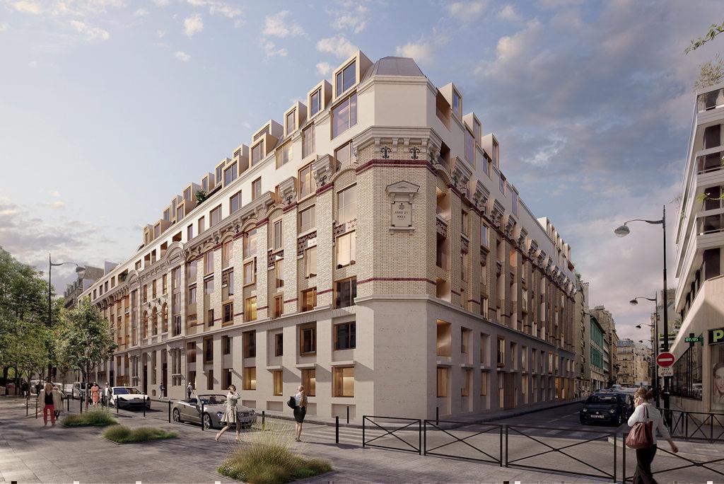 Programme immobilier LE 35 RUE SAINT DIDIER 75016 PARIS 16