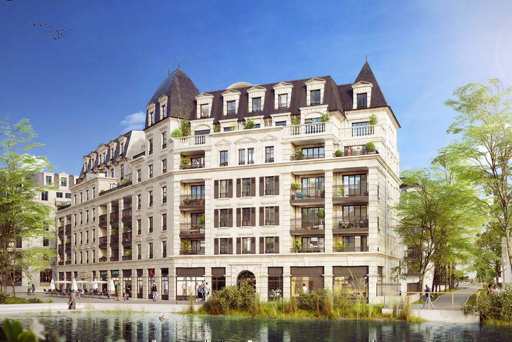 Programme immobilier DOMAINE DU LAC CLAMART PANORAMA 92140 CLAMART