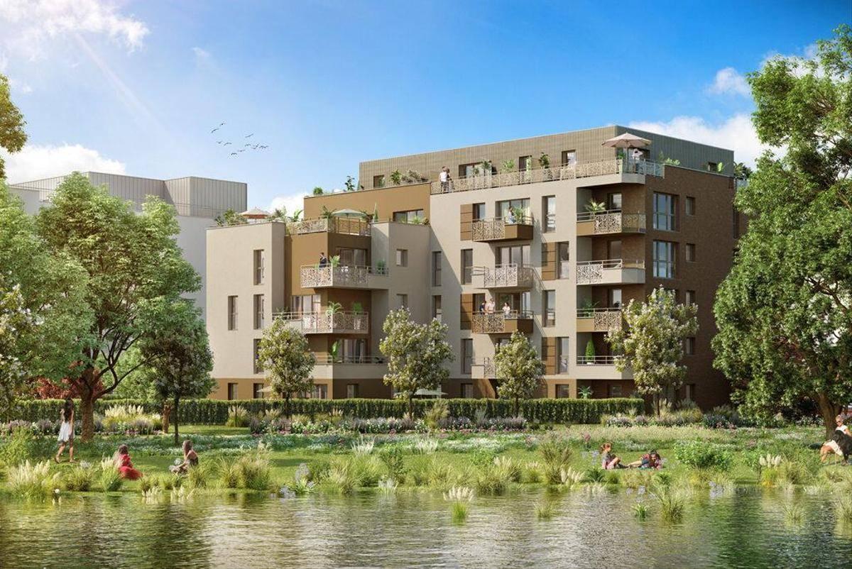 Programme immobilier GREEN PARK / PARK AVENUE 80088 AMIENS
