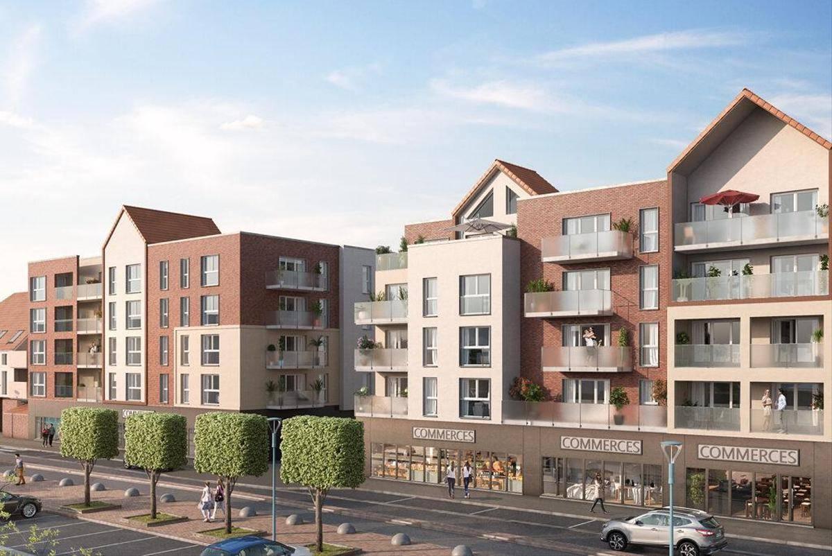Programme immobilier RESIDENCE DE LA BRAYELLE 62223 SAINT LAURENT BLANGY