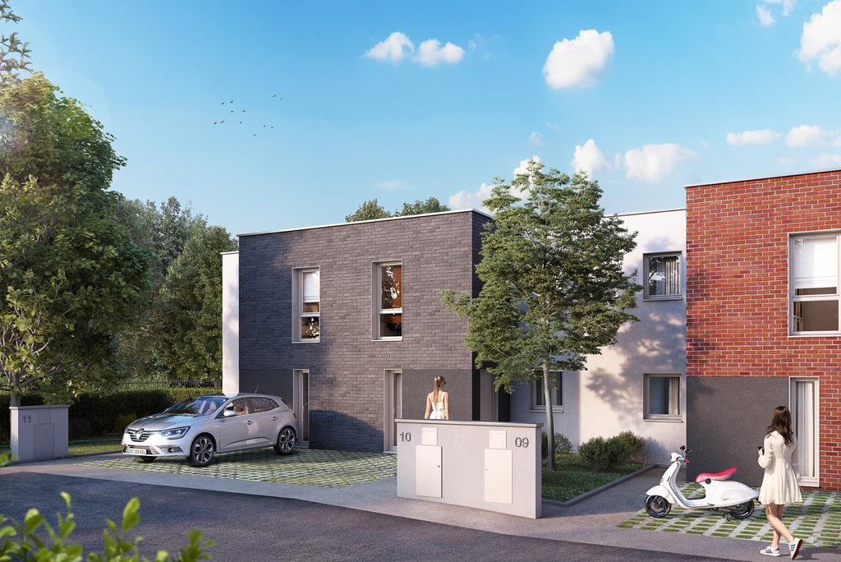 Programme immobilier LE CLOS MACAREZ 59300 VALENCIENNES
