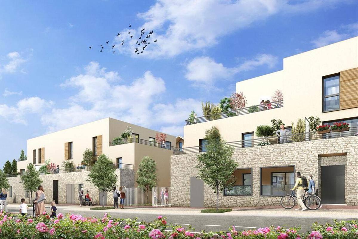Programme immobilier VILLA RIVA 78100 SAINT GERMAIN EN LAYE