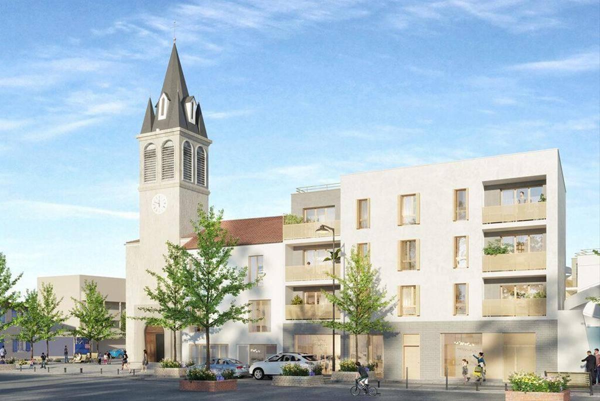 Programme immobilier LA PLACE 93380 PIERREFITTE SUR SEINE