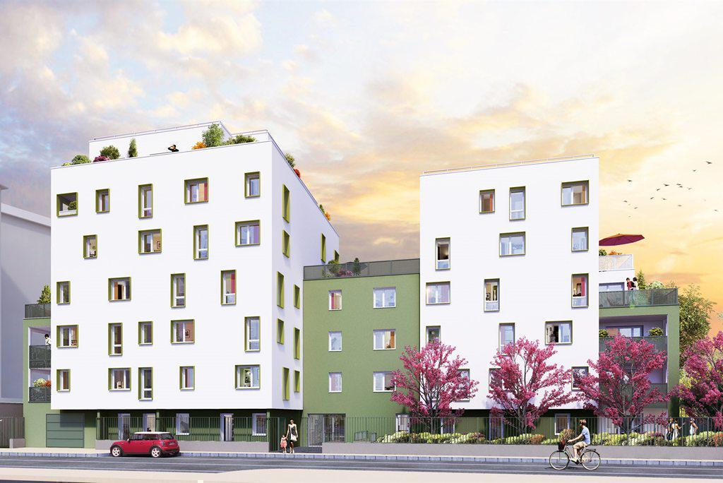 Programme immobilier ATYKA 69100 VILLEURBANNE