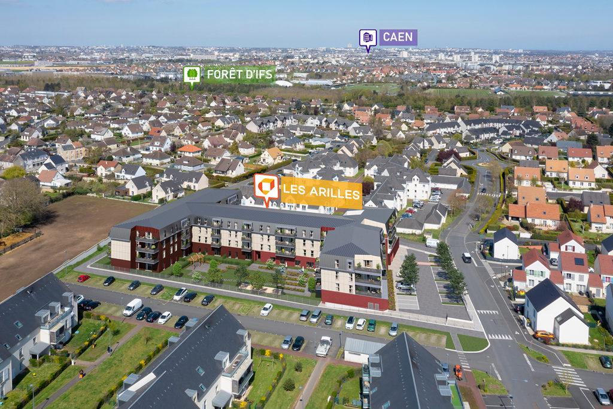 Programme immobilier LES ARILLES 14123 IFS