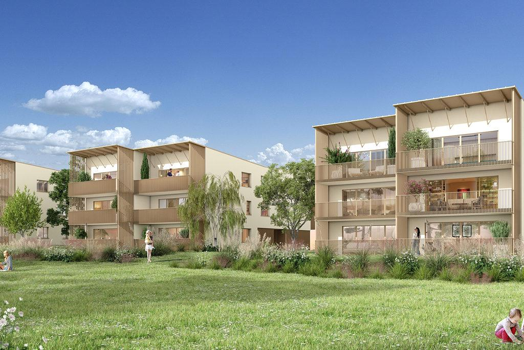 Programme immobilier ORGANIC 33560 CARBON BLANC