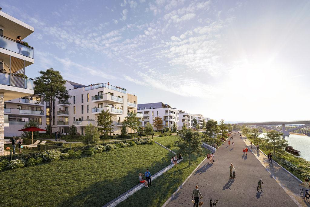 Programme immobilier LES BERGES D'HOULIPPE 45100 ORLEANS
