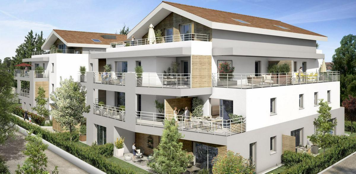 Programme immobilier VILLA SÉRÉNA 01280 PREVESSIN MOENS